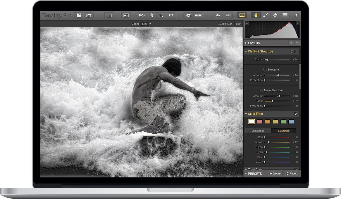 Tonality Mac OS App & Plugin Black & White