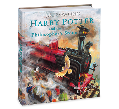 Harry Potter   Harry Potter and the Philosopher's Stone Illustrated Edition - J.K.Rowling and Jim Kay