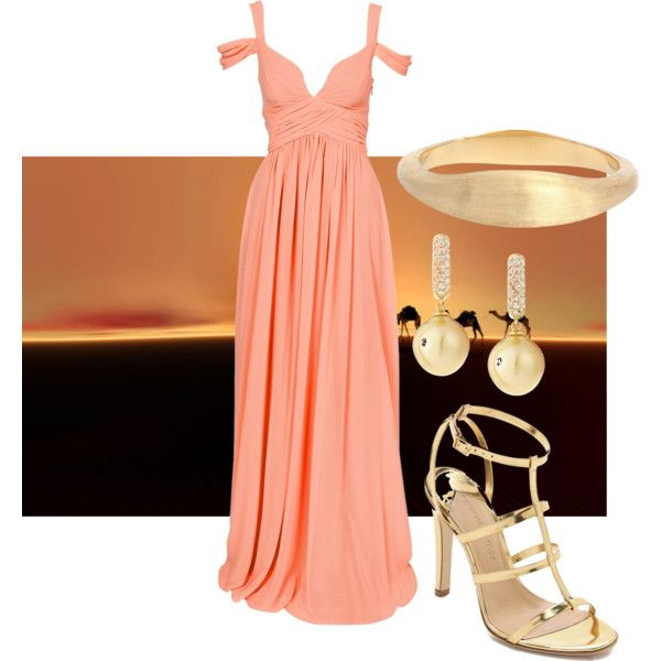 Mirage goddess by mollylsanders on Polyvore featuring Forever Unique, Charline De Luca, Belpearl and Marco Bicego