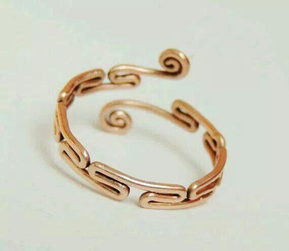DIY wire ring | Ringe | Pinterest | Drahtschmuck, Schmuck und ...