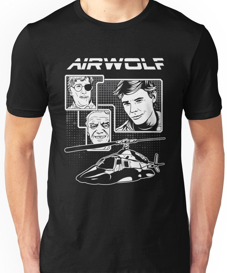 f4ab6b592 Airwolf tv series eighties' T-Shirt by samepol | Products | Movie ...