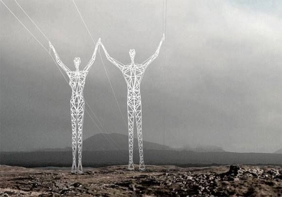 Japan's electric towers