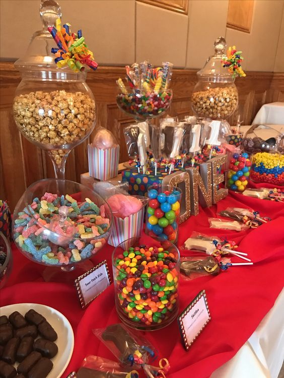 Birthday Party Candy Table Birthday Party Candy Table Candy Bar Birthday Candy Birthday Party