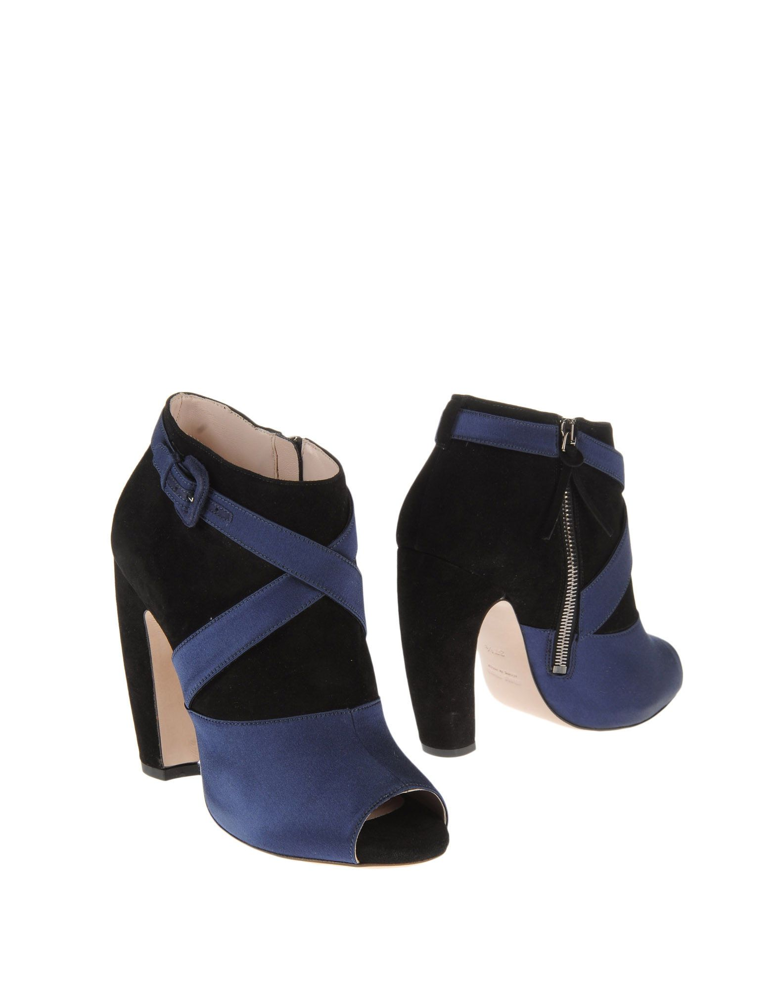 best website 18fbe 269af V|\\ : Stivaletti MIU MIU | Zoot | Fashion, Blue ankle boots ...