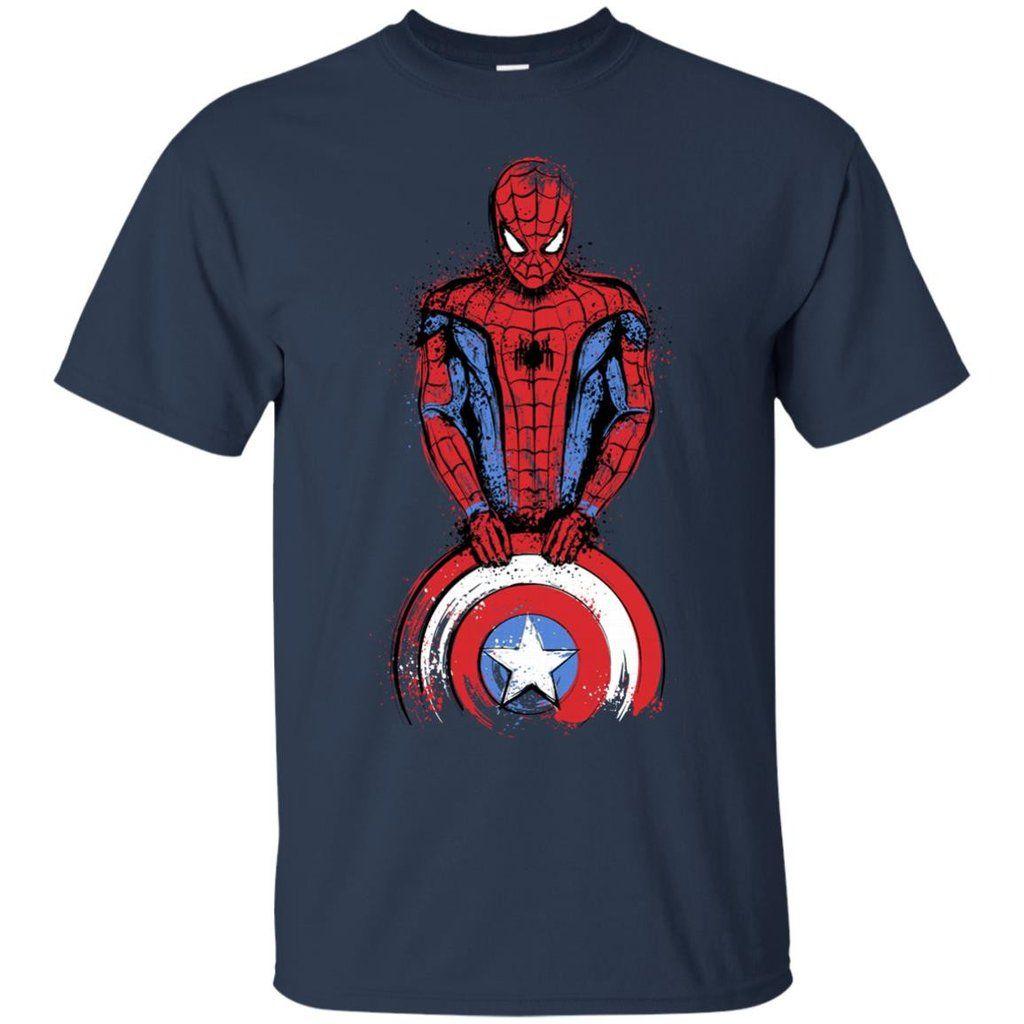 Spiderman American Captain T shirts Hoodies Sweatshirts Spiderman American Captain T shirts Hoodies Sweatshirts Perfect Quality for Amazing Prices! This item is