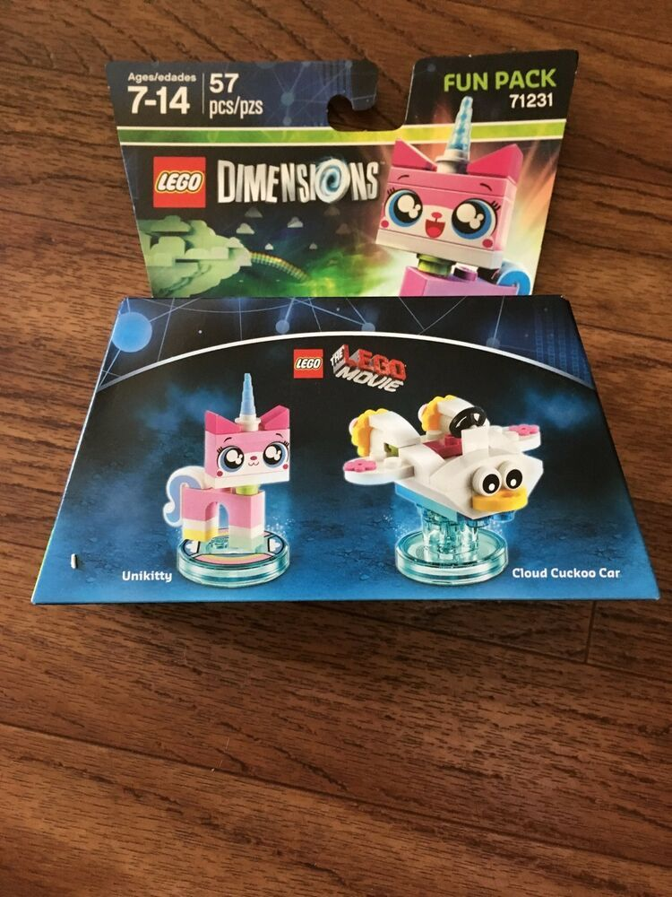LEGO Dimensions UniKitty Fun Pack 71231 Lego Movie New In Box