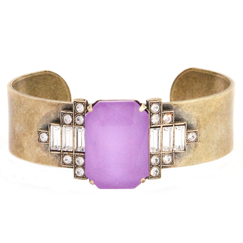 Loren Hope Alex Electric Purple Cuff. #laylagrayce