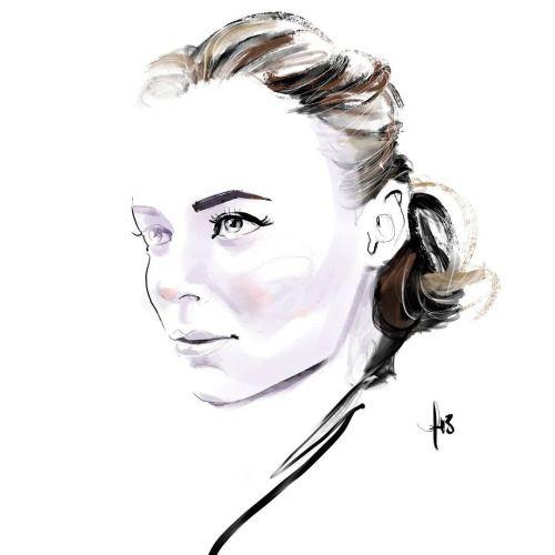 Stella mcCartney portrait by Hilbrand Bos