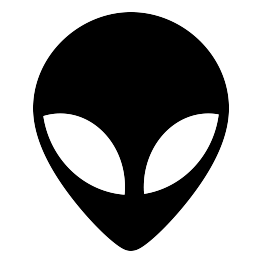 Space Silhouettes Silhouette Stencil Space Phone Wallpaper Alien Face