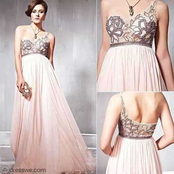 Vestido color rosa palo | DRESSES | Pinterest | Damitas de honor ...