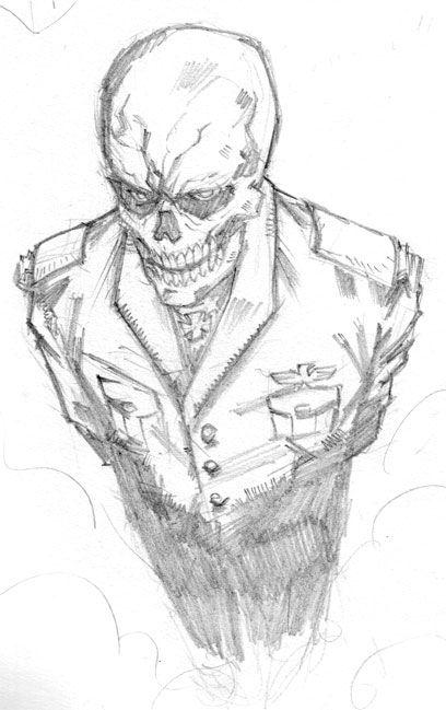 Red Skull by level-3 | Craneo rojo | Pinterest | Rojo