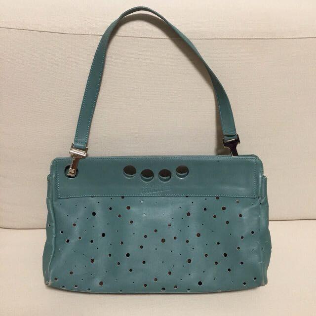 Authentic Jean Paul Gautier Green Bag