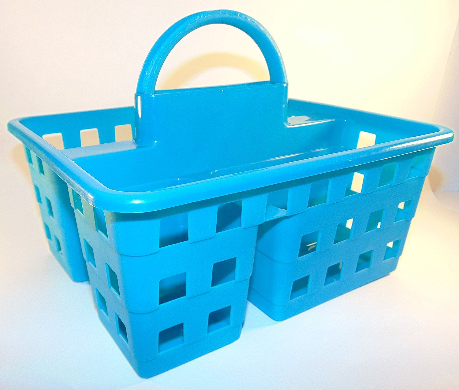 Amazon.com: Small Utility Shower Caddy Tote - Teal Blue: Home ...