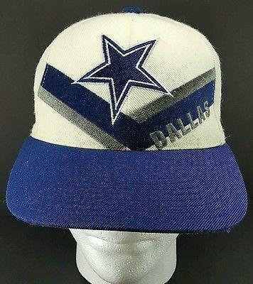 cf43a3af9 Vintage 90 s Dallas COWBOYS REEBOK SnapBack HAT Cap NFL Pro Line ...