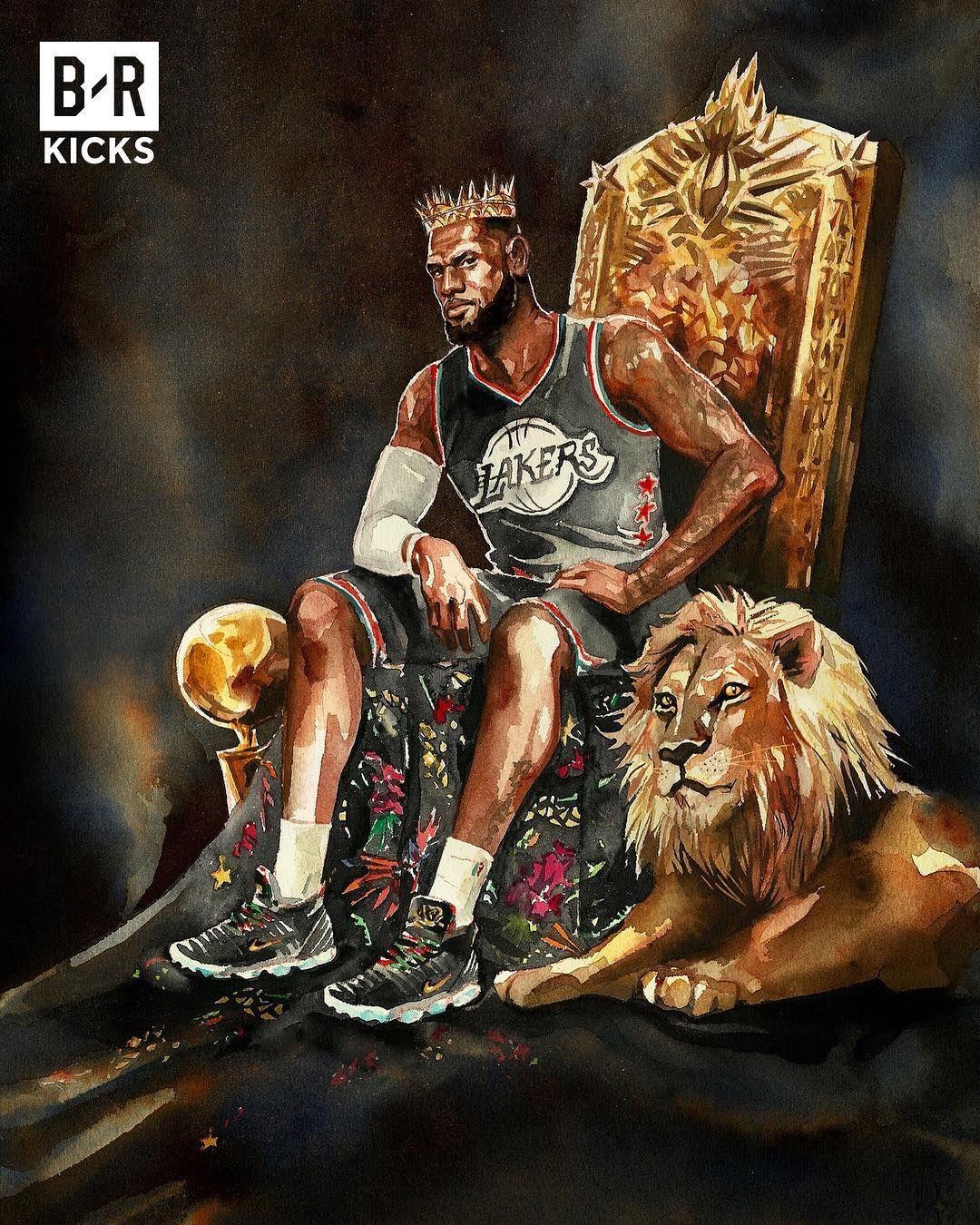 Image May Contain 1 Person Lebron James Wallpapers Basketball Drawings Nba Artwork