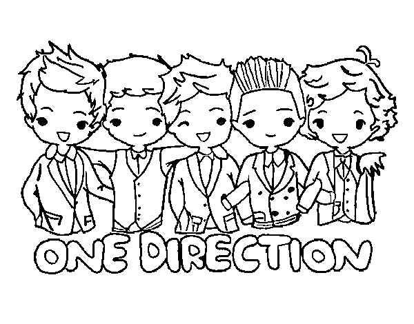 Coloring Pages Of One Direction