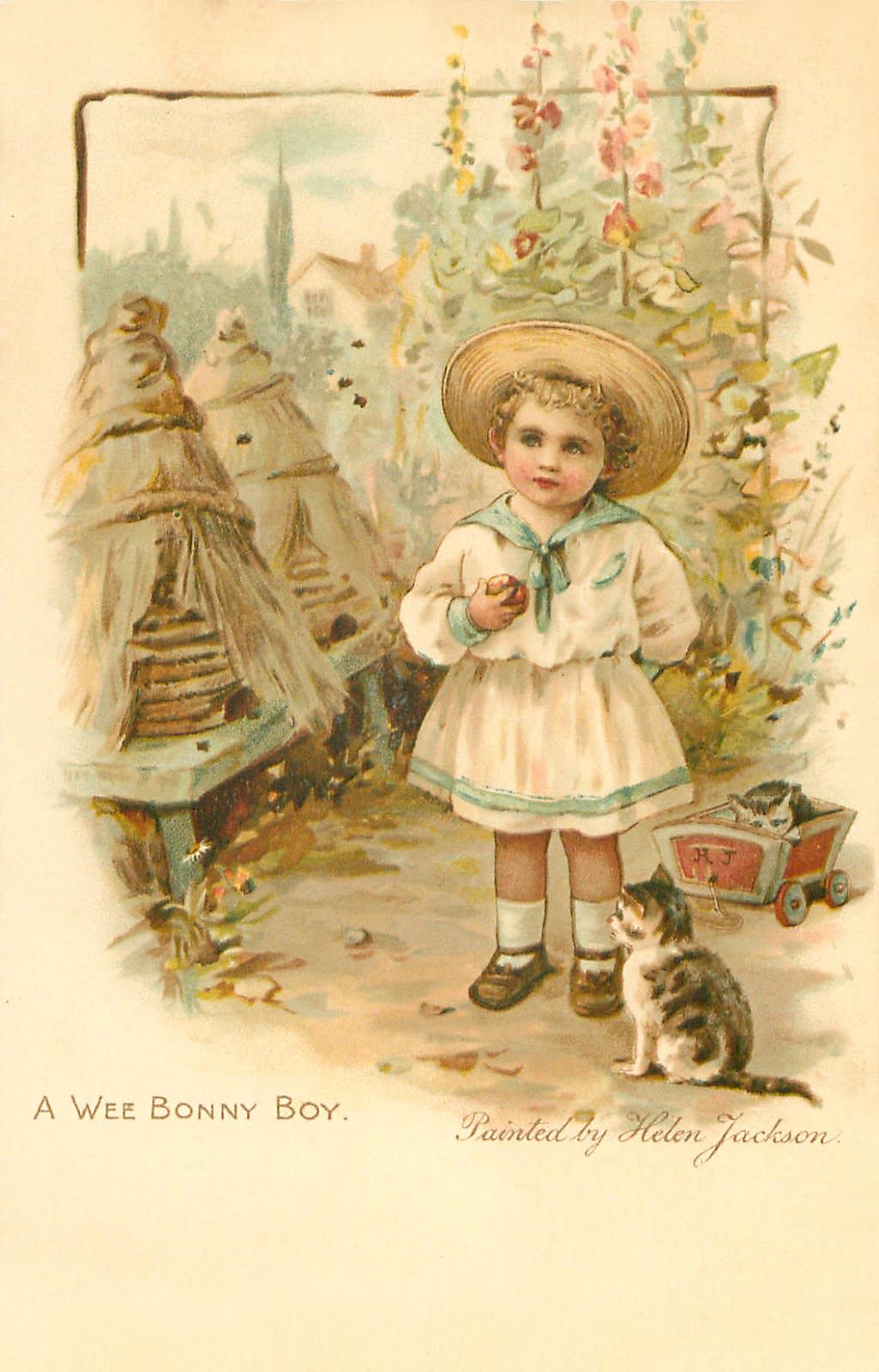 Днем, открытки старые винтаж