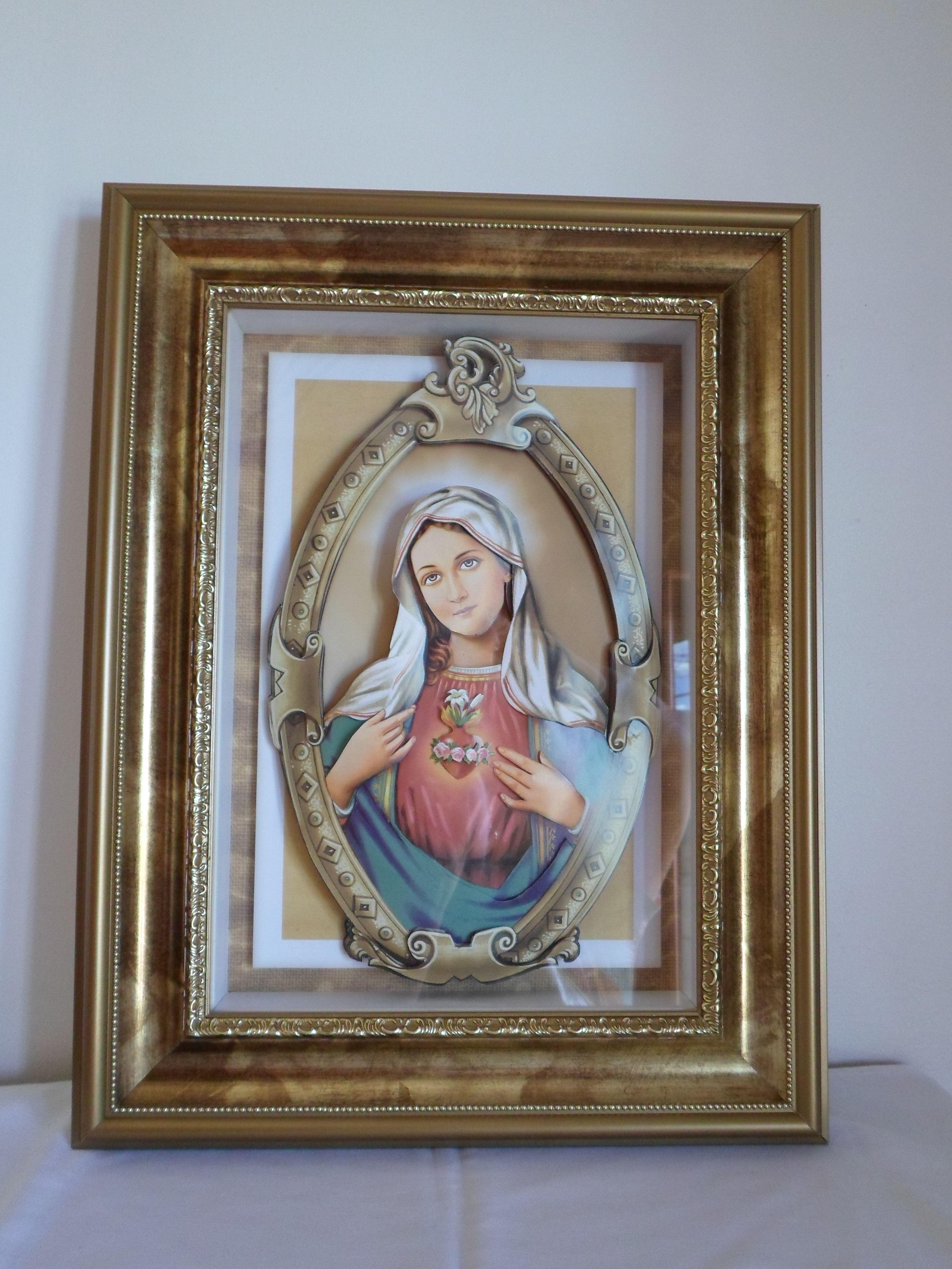 Sagrado Coração de Maria - Arte Francesa