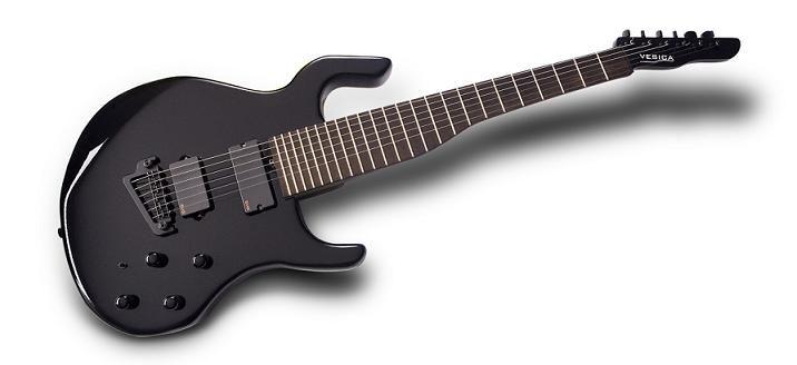 Vesica Design Introduces The Vesica Lead Electric Guitar Guitarsite Guitar Design Electric Guitar Guitar