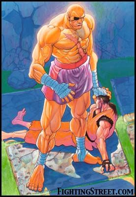 bf8d37b43ed Sagat  SF2 Sagat Street Fighter
