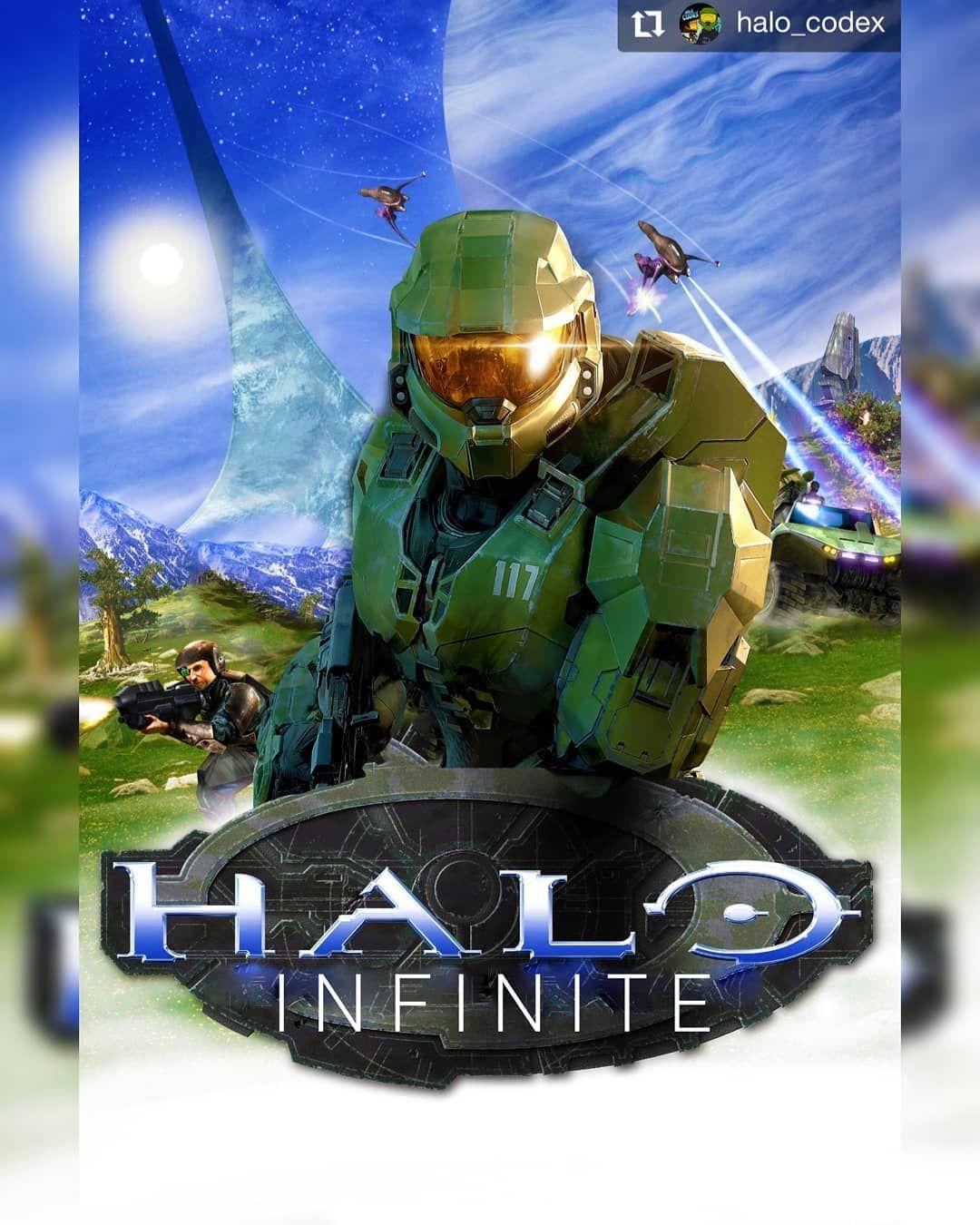 Mordecai Sanchez On Instagram Repost Halo Codex Halo Infinite Box Art But Halo Ce Styled In 2020 Box Art Instagram Halo Ce