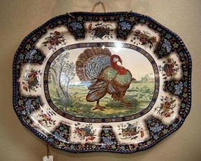 I have an antique Copeland Spode Turkey platter and 6 dinner & Copeland Spode 23\