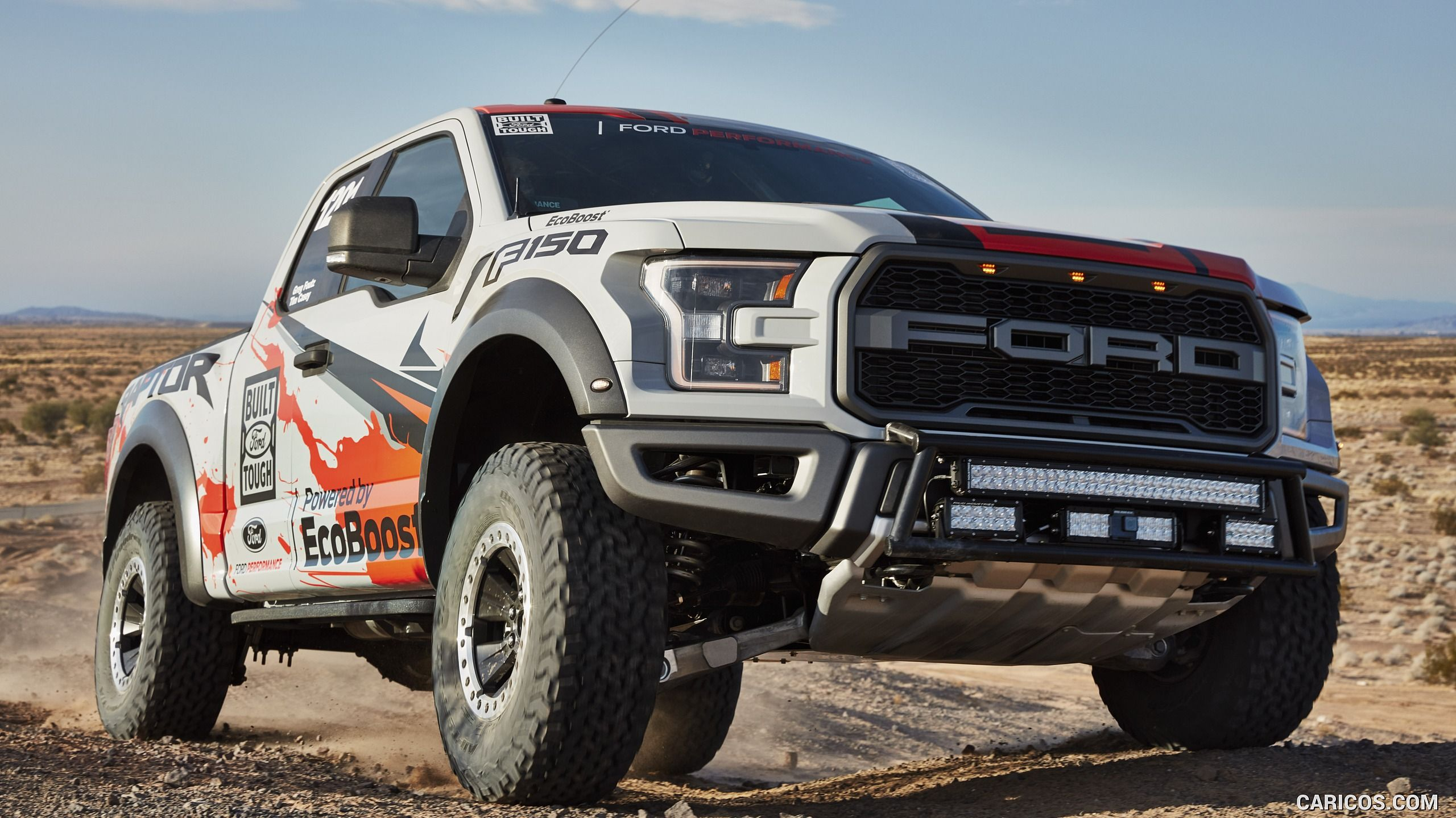 The 2017 ford raptor is going racing and it s about time ford s rip roaring off roader will join the best in the desert race series