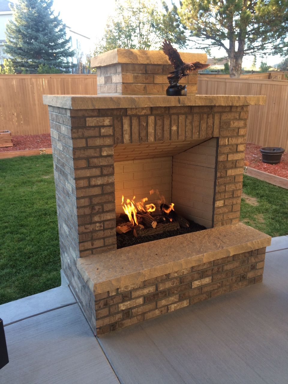 Outdoor Fireplaces At Lumenscom