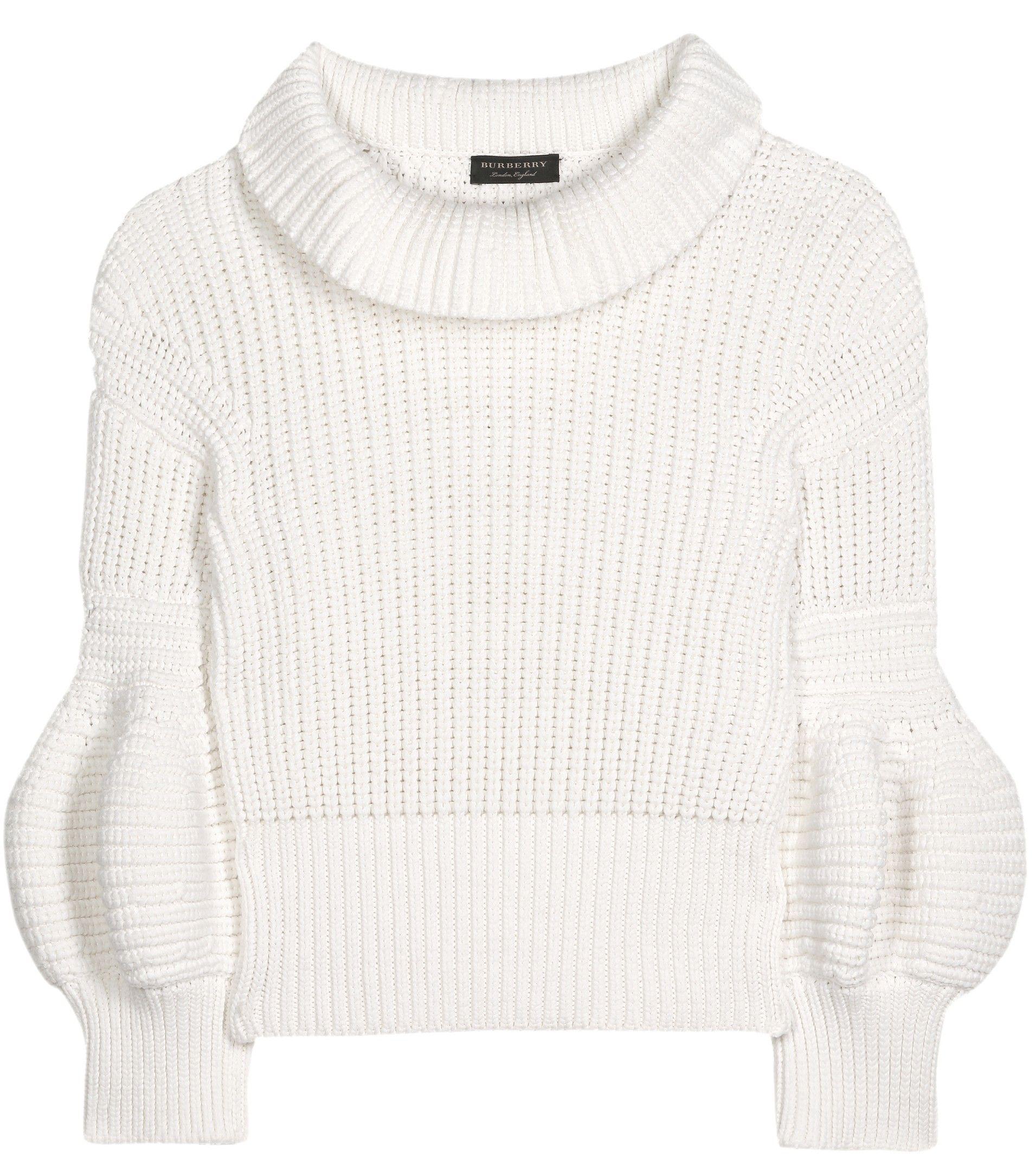 mytheresa.com - Cotton-blend sweater - Tuesday - Current week ...
