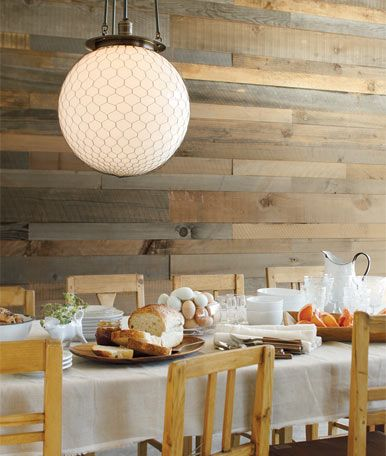 Farmhouse modern dining chicken wire for Dining room globe lighting