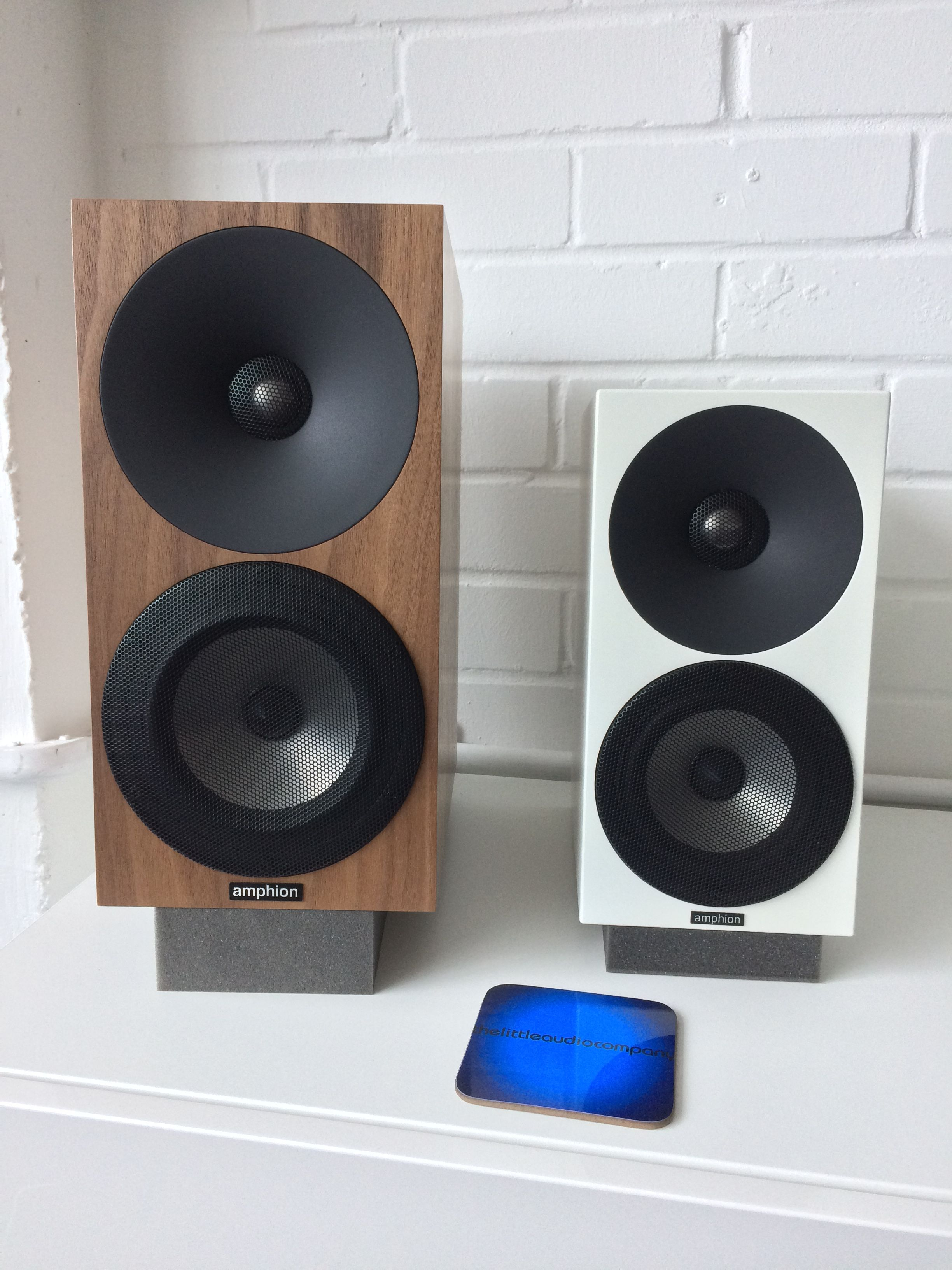 Amphion Argon 1 and Argon 0 loudspeakers at the little audio company in  Birmingham. 6590973a77074