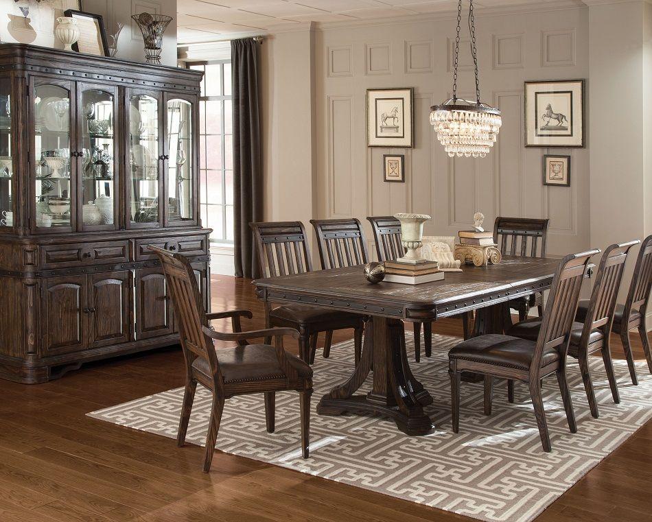 Coaster furniture 105731 carlsbad Rustic formal dining