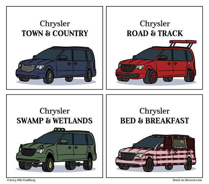 The Lesser Known Variations Of The Chrysler Town Country