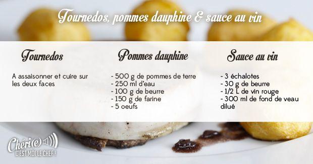 Recettes ch ri e c 39 est moi le chef france 2 - Recette de cuisine tele matin france2 ...