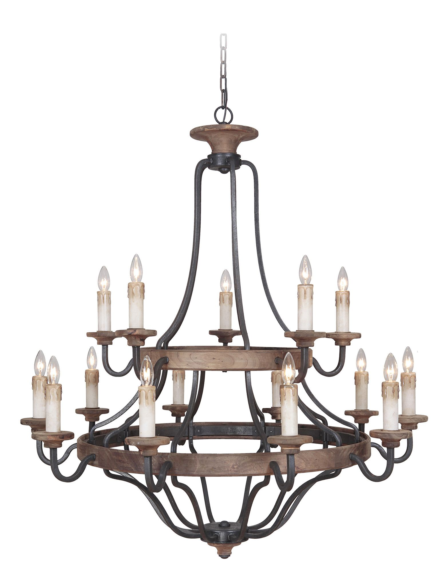 Ashwood 15 Light Candle Style Chandelier Products