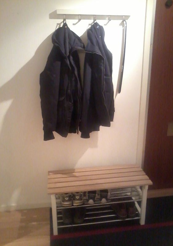 Tjusig Shoe Rack Turned Small Bench For The Home Shoe