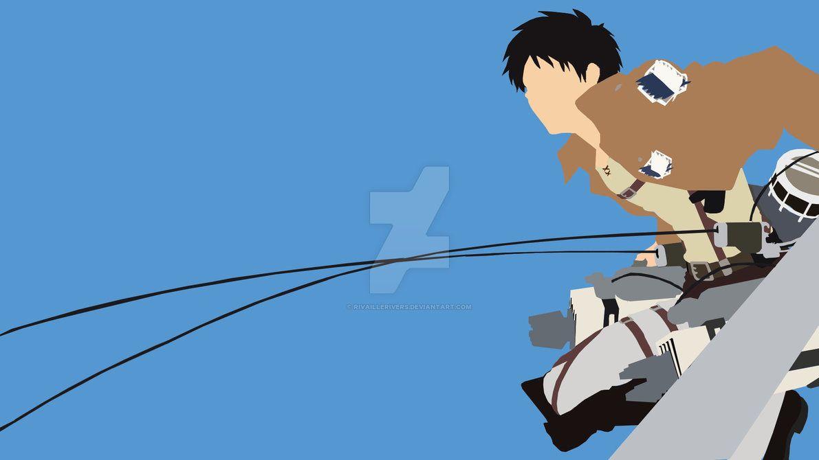 Attack On Titan Minimalism Attack On Titan Anime Anime Wallpaper