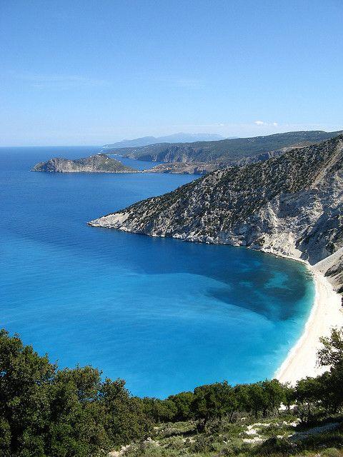 Myrtos --- Kefalonia  Greece