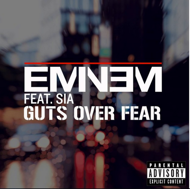"""New Music: Eminem and Sia's """"Guts Over Fear"""" (Audio) 