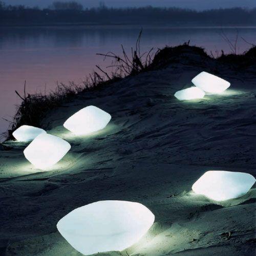 Stones Exterior Landscaping Light Oluce SRL at Lightology