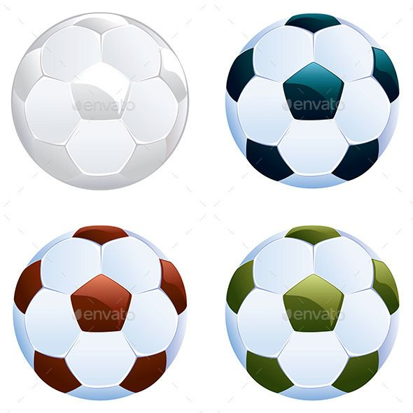 Soccer Ball Icon Football Ball