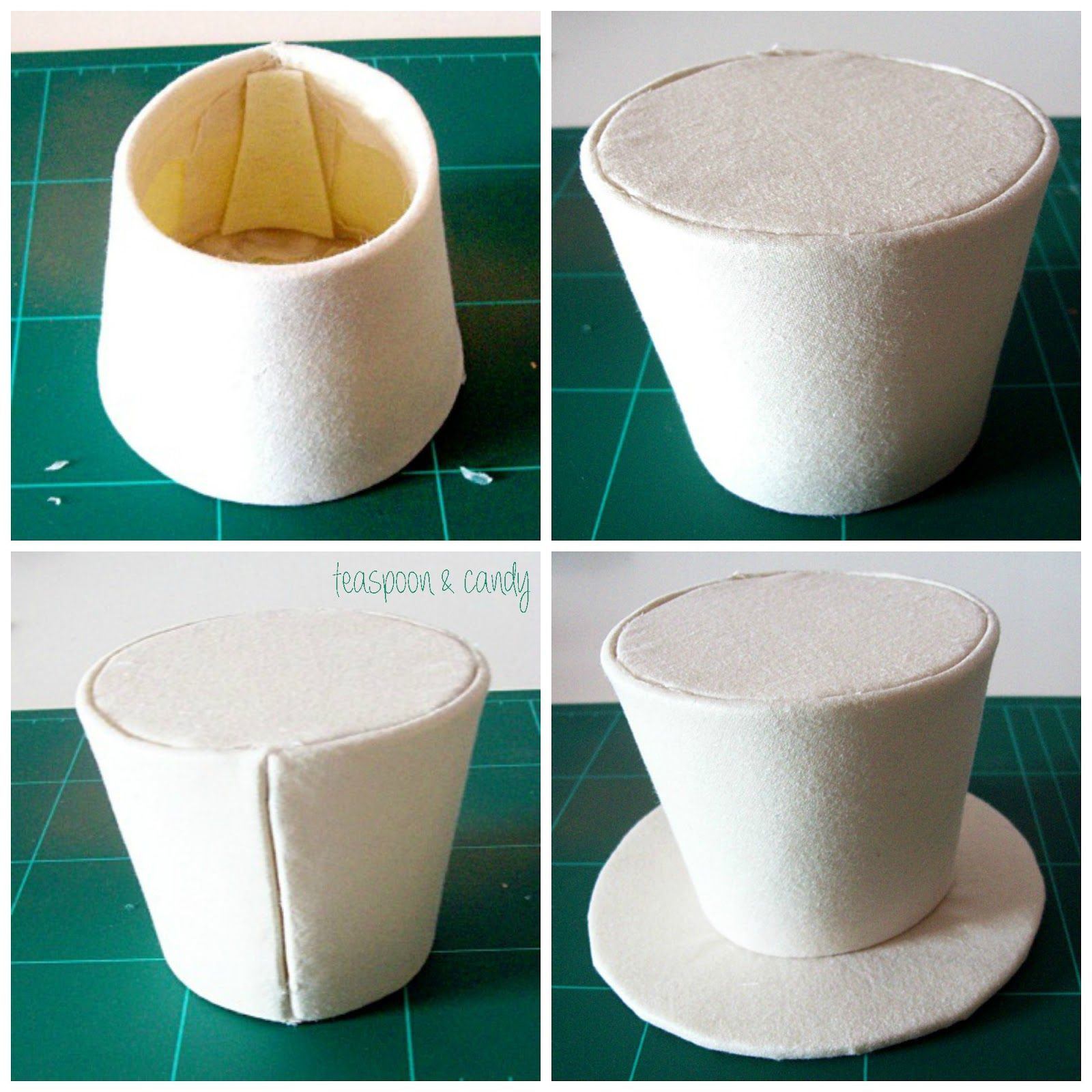 how to make a mad hatter mini top hat tutorial headband tutorial