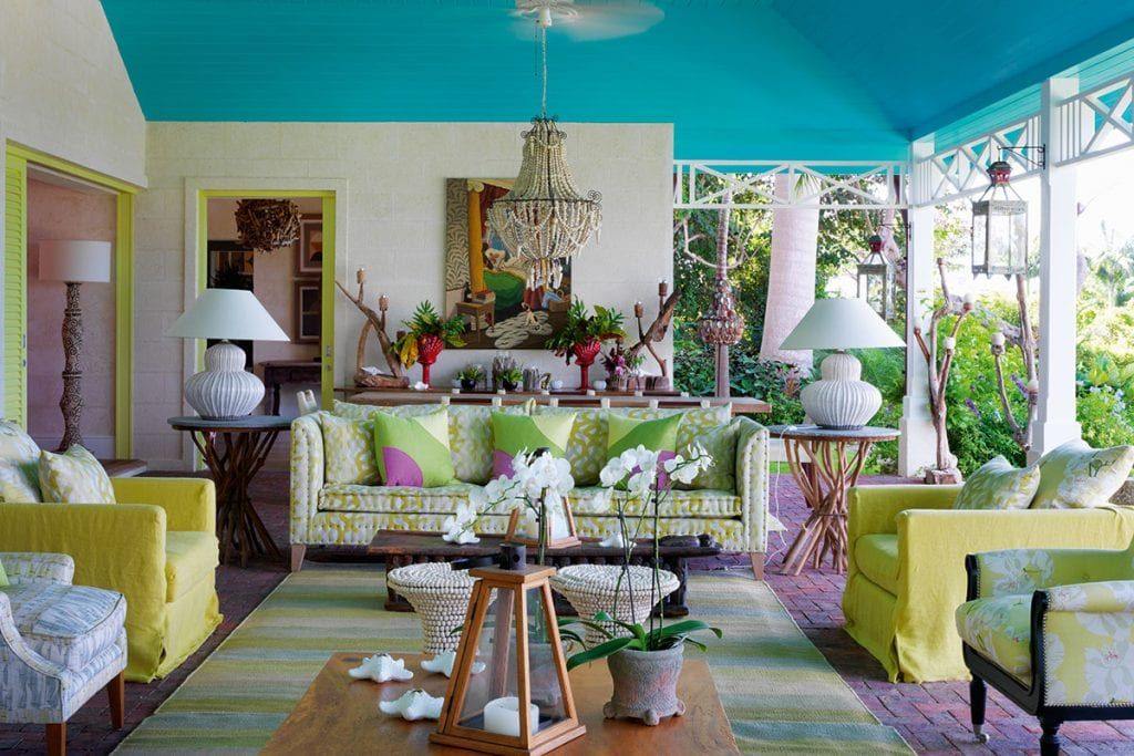 Designer Kit Kemp S Barbadian Home Is Alive With Colour In 2020
