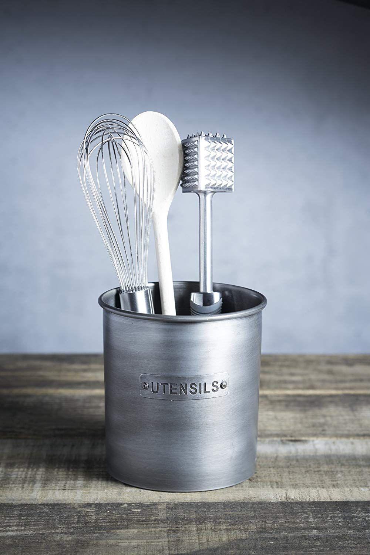Gitter Für Küchenutensilien kitchen craft küchenutensilien-halter vintage metall 14 x 14 cm