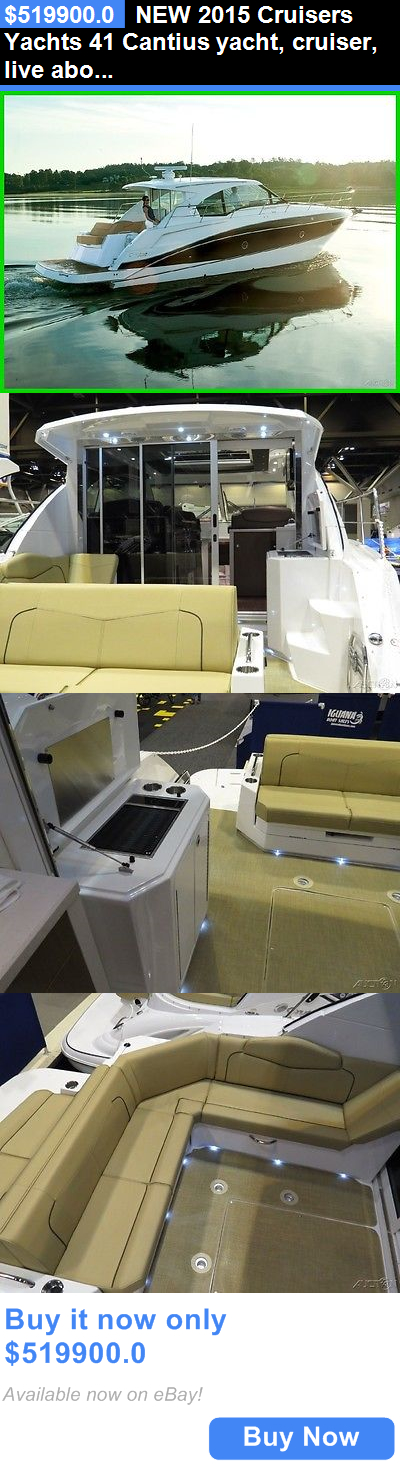 boats: New 2015 Cruisers Yachts 41 Cantius Yacht, Cruiser, Live Aboard, Houseboat BUY IT NOW ONLY: $519900.0