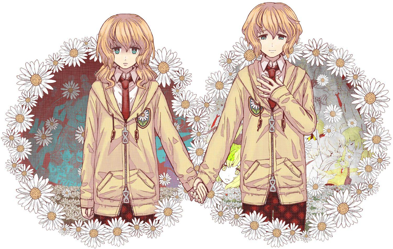 Картинки близнецов в аниме
