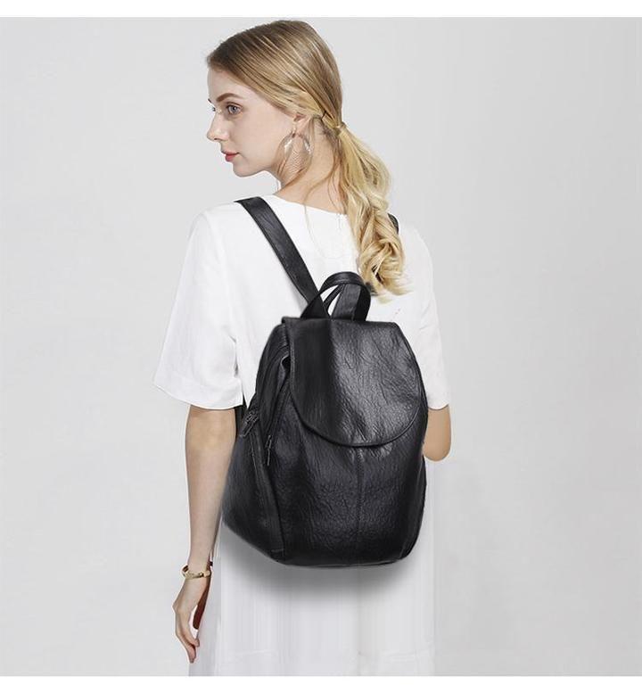 02d4339b002f KQBV Rustic Leather Backpack  bags  bag  handbags  totebag  leatherwork   fashion
