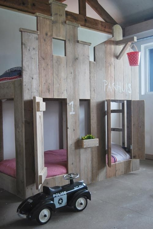 the boo and the boy built-in kids beds Built-in beds Ugrađeni