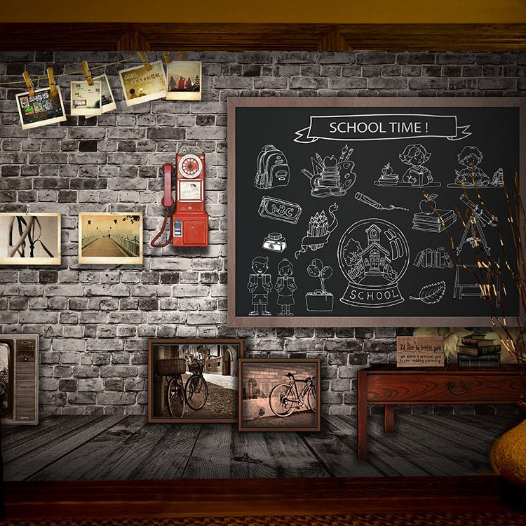 custom photo wallpaper Antique brick wall mural youth
