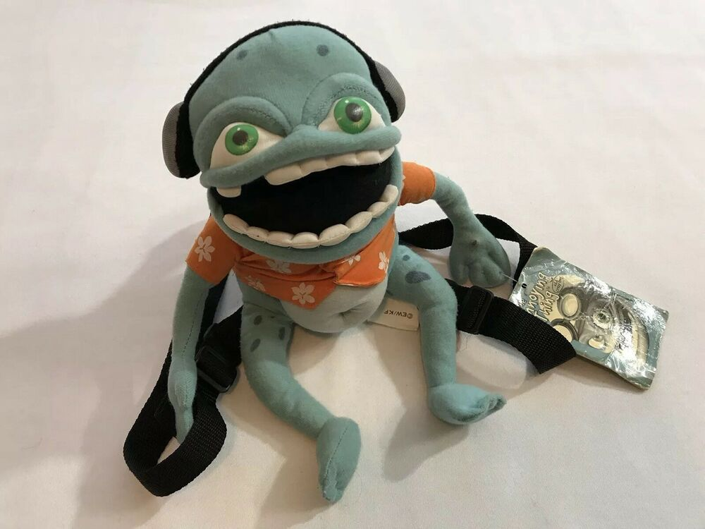 The Annoying Thing Crazy Frog Backpack Plush Collectible